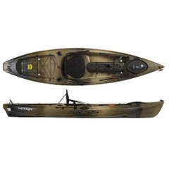 Ocean Kayak Tetra 10 Angler - Sit-on-Top каяк для рыбалки